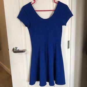 Cute Blue Minidress